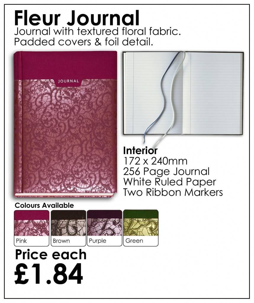 Fleur Journal Sale Border