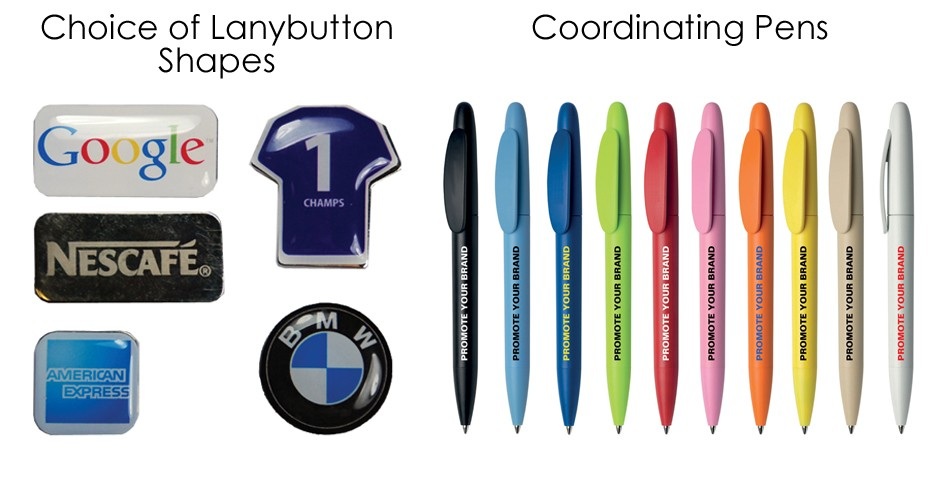 Lanybuttons & Pens