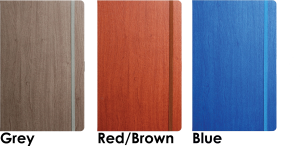 Image showing cover colours available for Acero Corporate Notebooks by Castelli