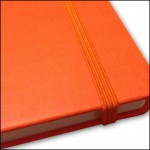 Image Showing Coordinating Elastic Strap for Tucson Flexible Custom Notebooks