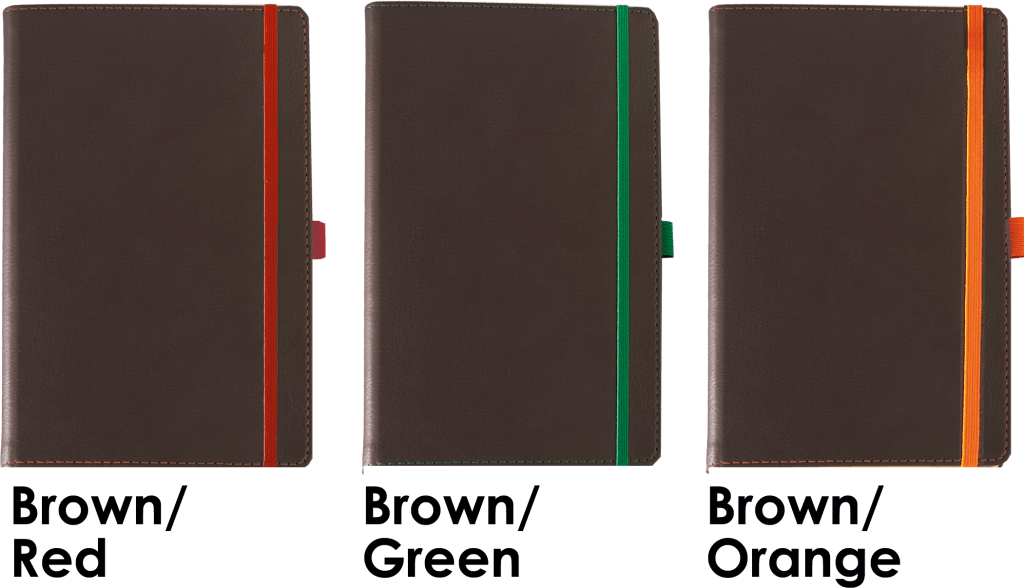 Colour options for customised Notebook