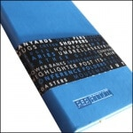 Image Showing Printed Belly Band for Tucson Flexible Custom Notebooks from The Notebook Warehouse.