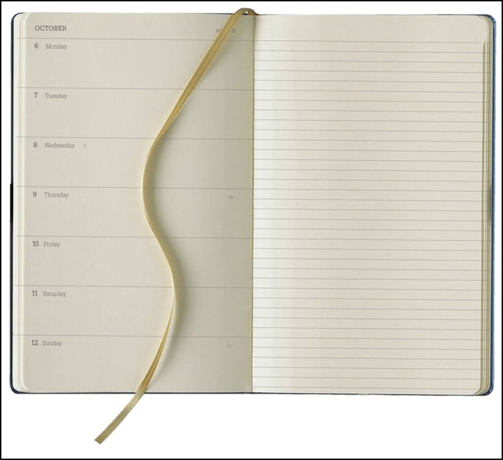 WTV Format of the Tucson Ivory Corporate Diaries collection from The Notebook Warehouse