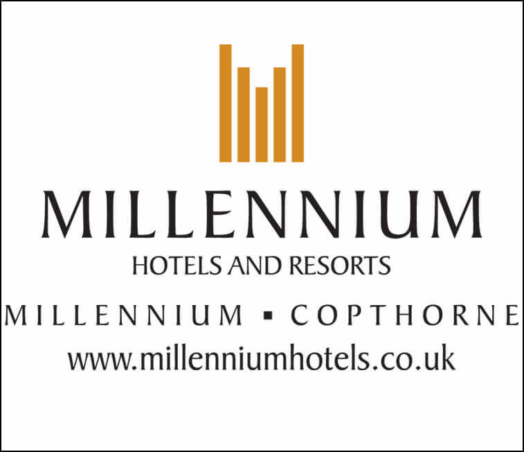 Image showing Millennium Hotels logo on The Notebook Warehouse