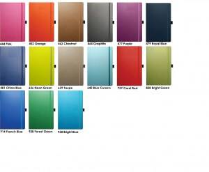 Colours available for Tucson Ivory Corporate Diaries from The Notebook Warehouse