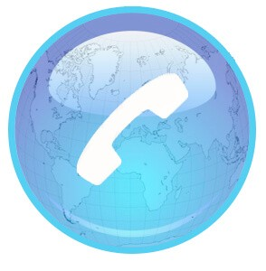 Phone World Icon