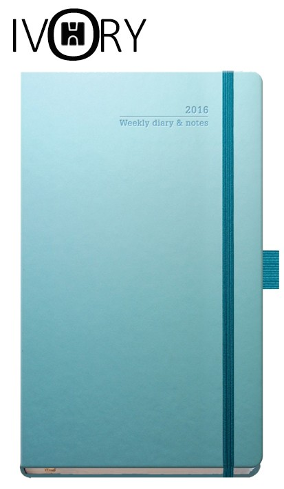 Ivory Branded Diary