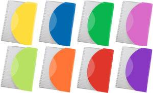 Curve Wiro Promotional Notebooks Colours Available From The Notebook Warehouse