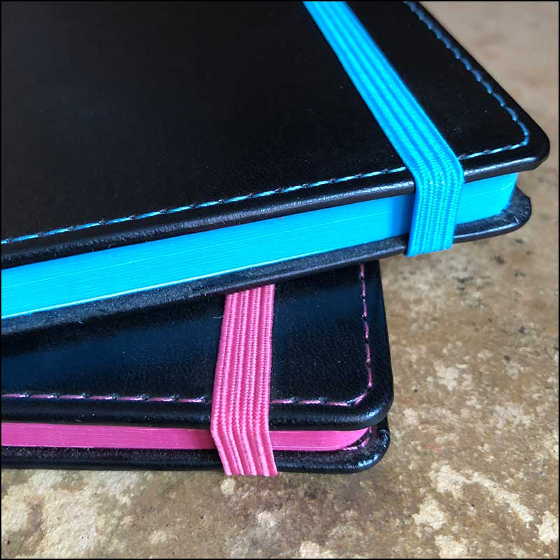 Contrast Detailing on Company Branded Notebooks from The Notebook Warehouse. Leading supplier of Company Branded Notebooks, Custom Notebooks and Bespoke Notebooks.
