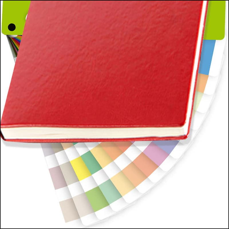 Colour Matched Covers on Custom Notebooks from The Notebook Warehouse, the leading supplier of Company Branded Notebooks and Promotional Notebooks.