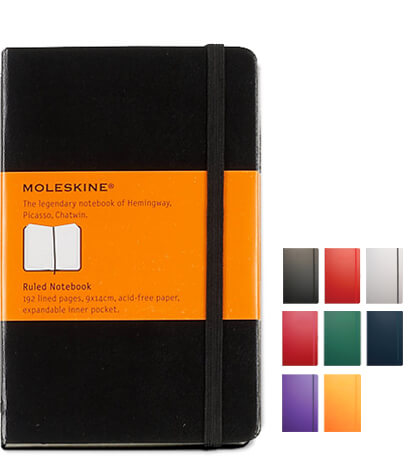 Moleskine Branded Notebook by The Notebook Warehouse