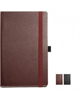 Nappa Leather A well crafted notebook that will keep your name in front of your clients. Custom Leather notebooks