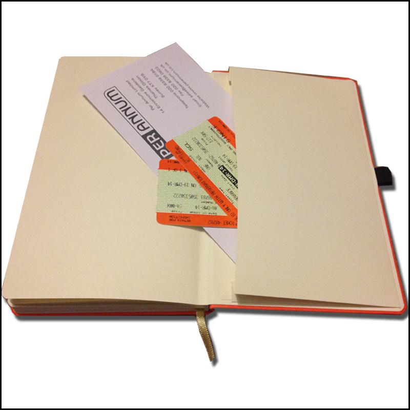 Image showing Envelope Pocket in Branded Notebooks