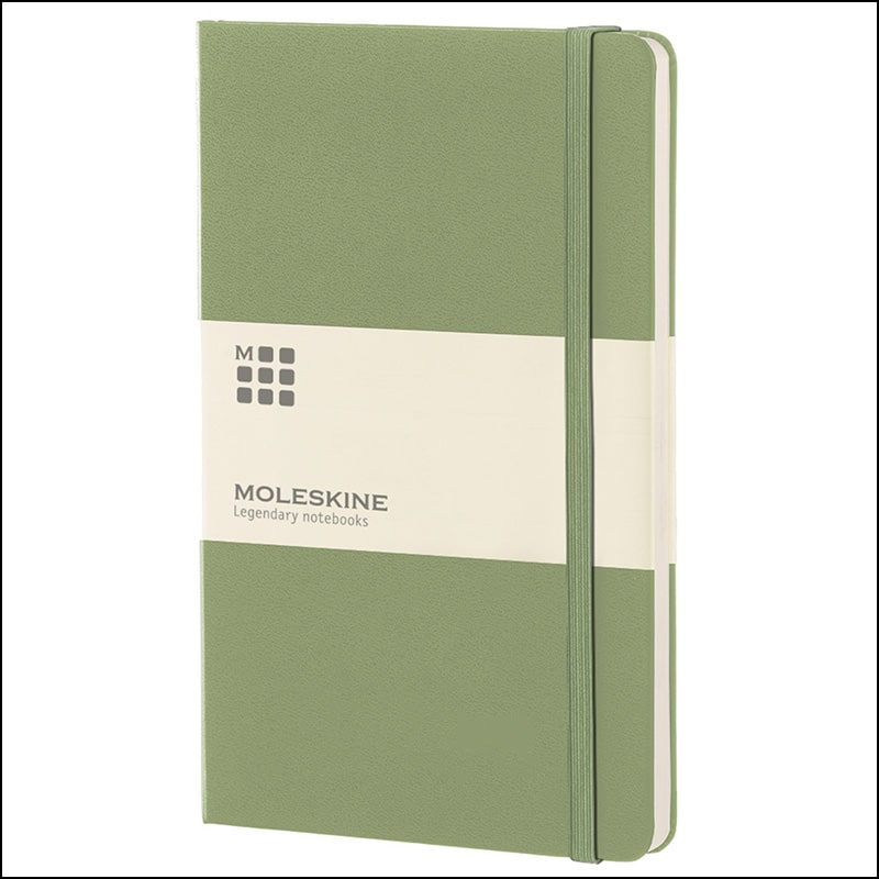 Hardback Notebooks such as Moleskine Company Branded Notebooks available from The Notebook Warehouse
