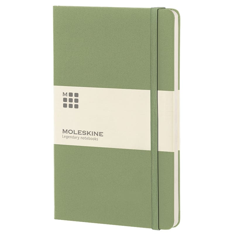 Classic Hardback Moleskine Company Logo Notebooks from The Notebook Warehouse
