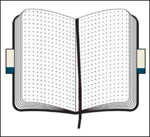 Softcover Customised Notebooks with dotted pages from The Notebook Warehouse