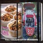 Full Colour Cover Branding on Custom Notebooks from The Notebook Warehouse