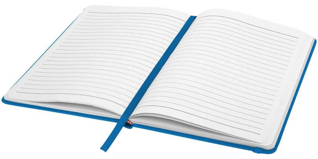 Spectrum Custom Notebooks Ruled Pages contain 192 pages available from The Notebook Warehouse