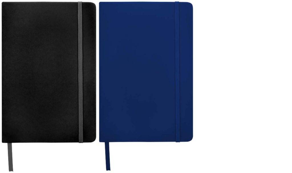 Spectrum Custom Notebooks Dotted Pages available in two colours from The Notebook Warehouse