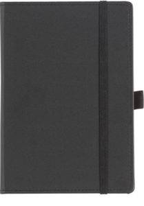 Black Dartford A5 Contrast Branded Notebook
