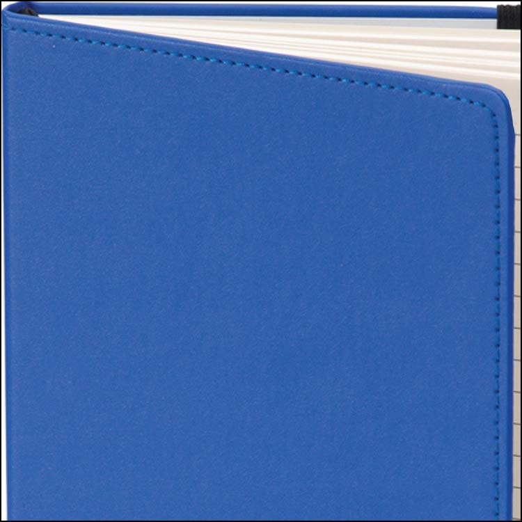 Image to Show Stitch Details on Dartford A5 Contrast Branded Notebooks