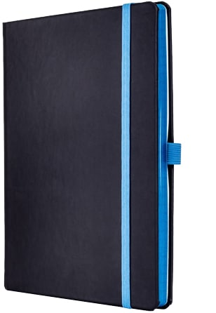 Image of Tucson Edge Contrast Custom Notebooks with Blue Details from The Notebook Warehouse