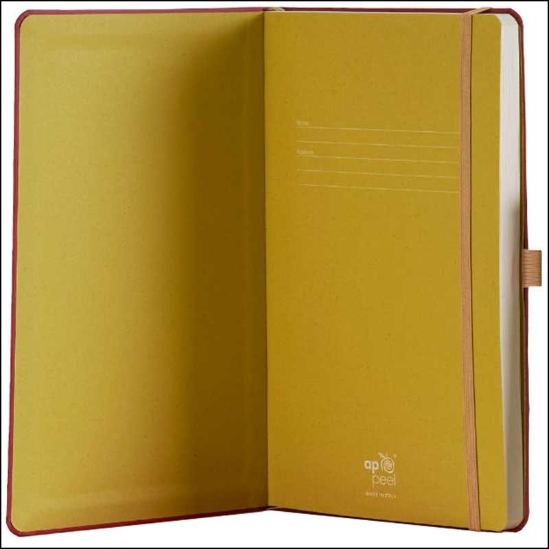 Image showing Coloured Endpapers on the Appeel Eco Branded Notebooks from The Notebook Warehouse