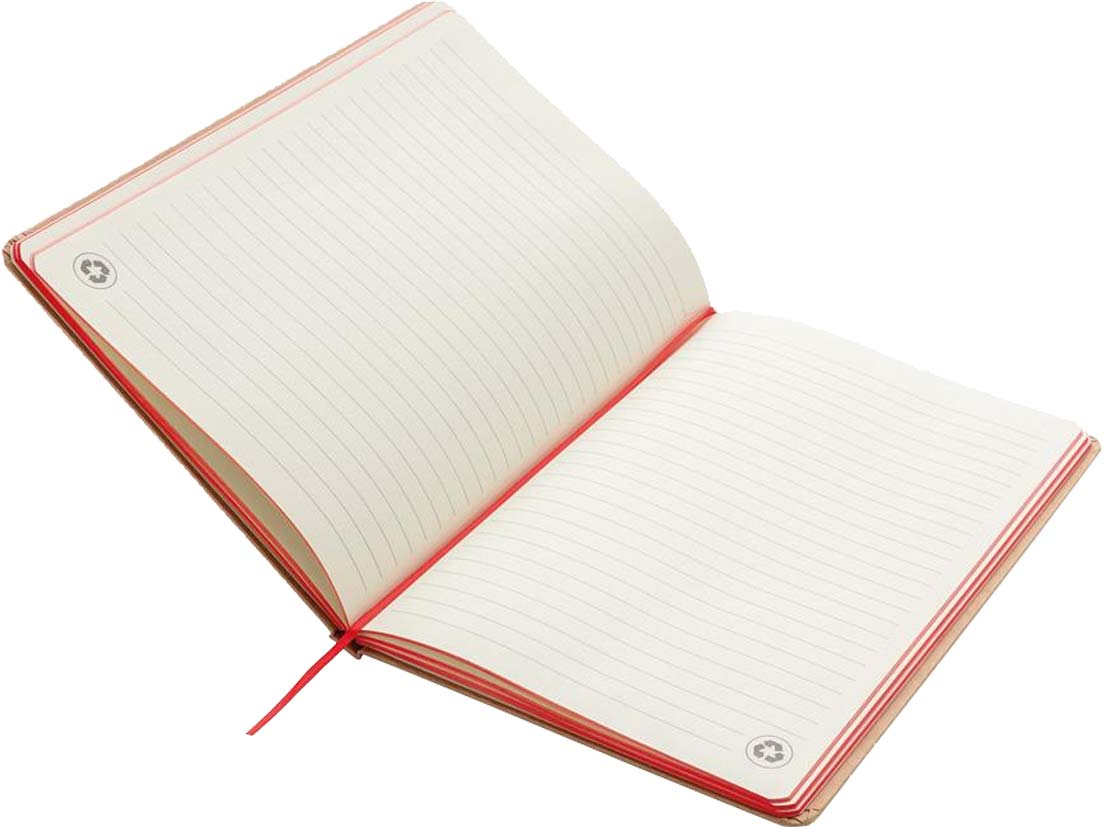 Image showing Interior of Contrast Edge Branded Eco Friendly Notebooks from The Notebook Warehouse