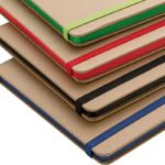 Image showing Stained Page Edges on the Contrast Edge Branded Eco Friendly Notebooks range from The Notebook Warehouse
