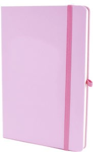 Image showing Pastel Pink Mole Promotional Notebooks from The Notebook Warehouse