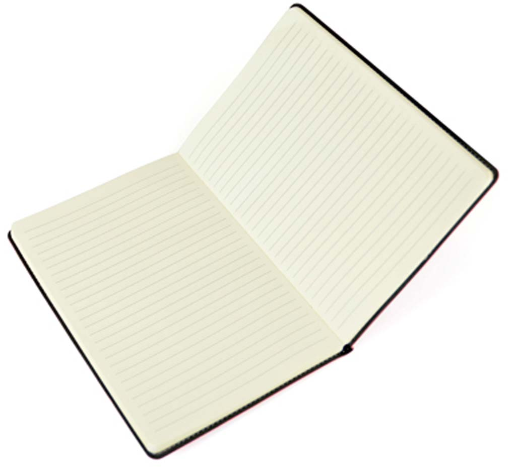 Interior Image of Stitch Edge Flexible Branded Notebooks from The Notebook Warehouse
