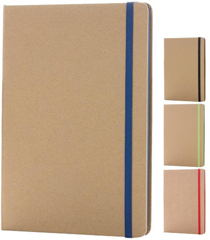 Image showing the range of Contrast Edge Branded Eco Friendly Notebooks range from The Notebook Warehouse