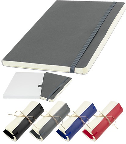 Image showing the FLXA5 Flexible Branded Notebooks range from The Notebook Warehouse