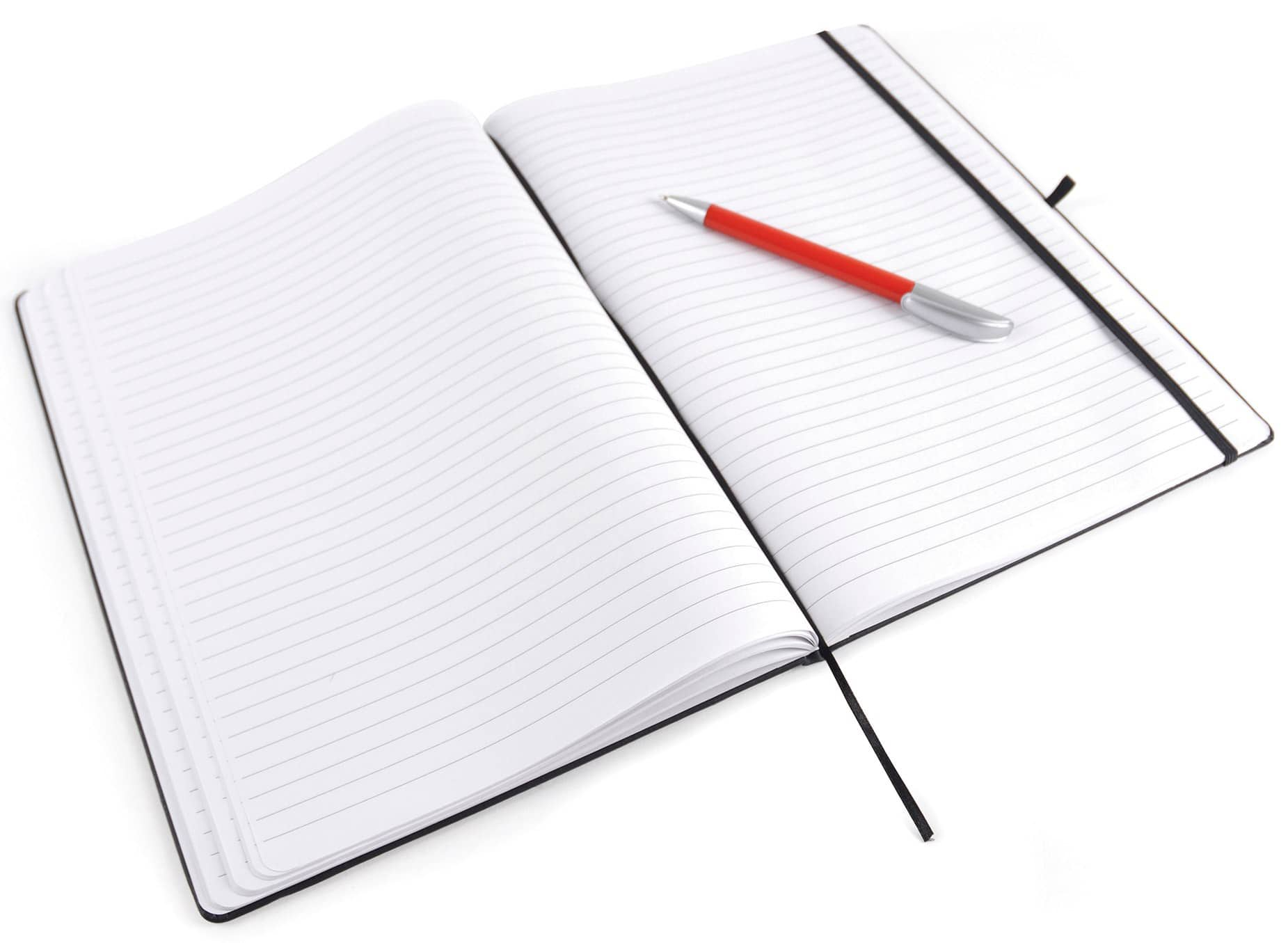 Interior of Mole A4 Promotional Notepads from The Notebook Warehouse, available with 180 Pages of Lined Paper