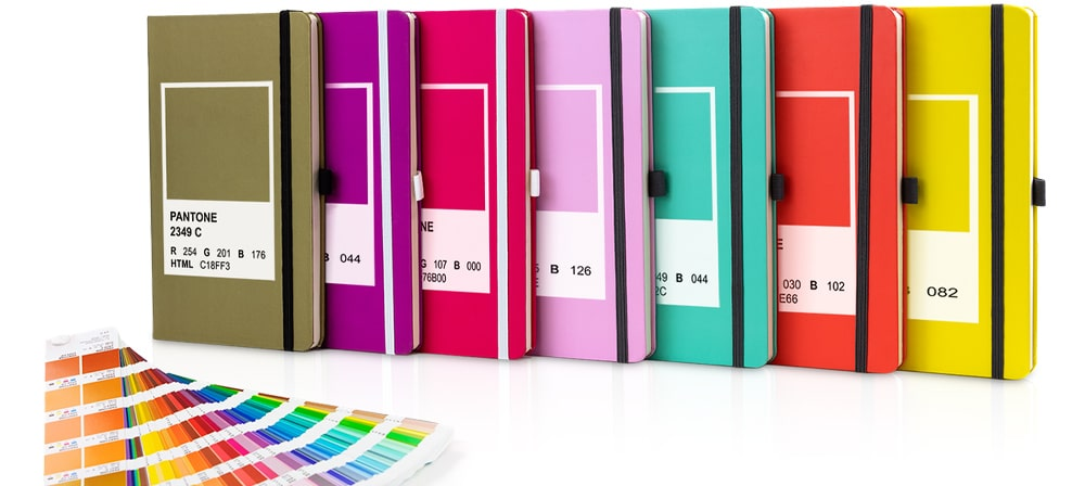 Colour Matched Branded Notebooks from The Notebook Warehouse