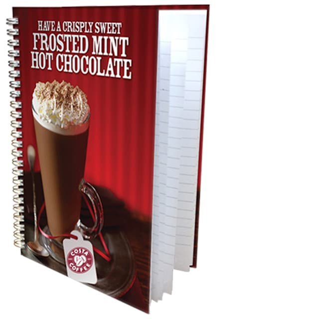Hardback Wiro branded notebooks