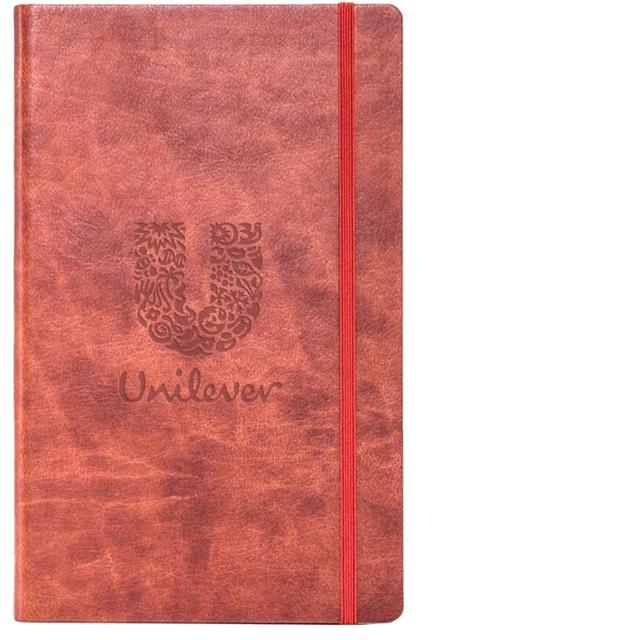 Novara Soft Cover branded notebook