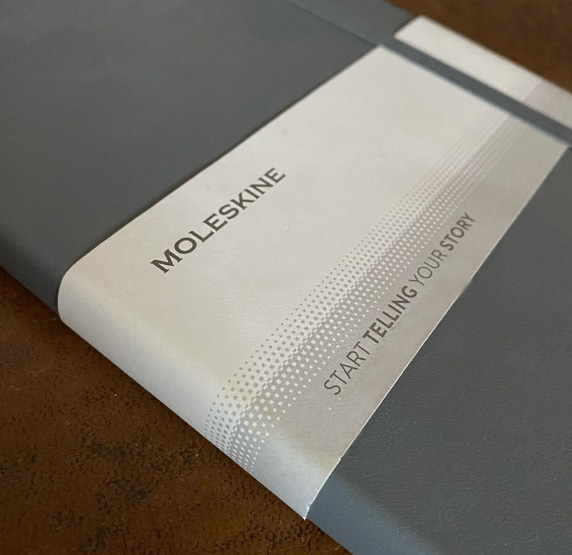 Moleskine Branded Notebooks for Journaling available from The Notebook Warehouse